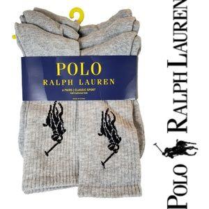 Polo Ralph Lauren Big Pony Classic Sport socks 6x